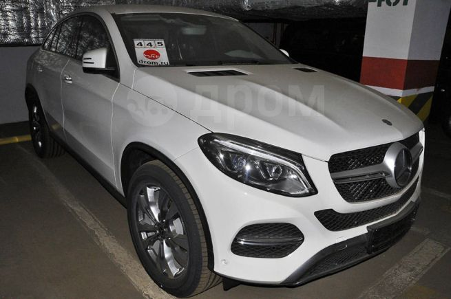 Mercedes-Benz GLE Coupe, 2018 год, 5 750 000 руб.