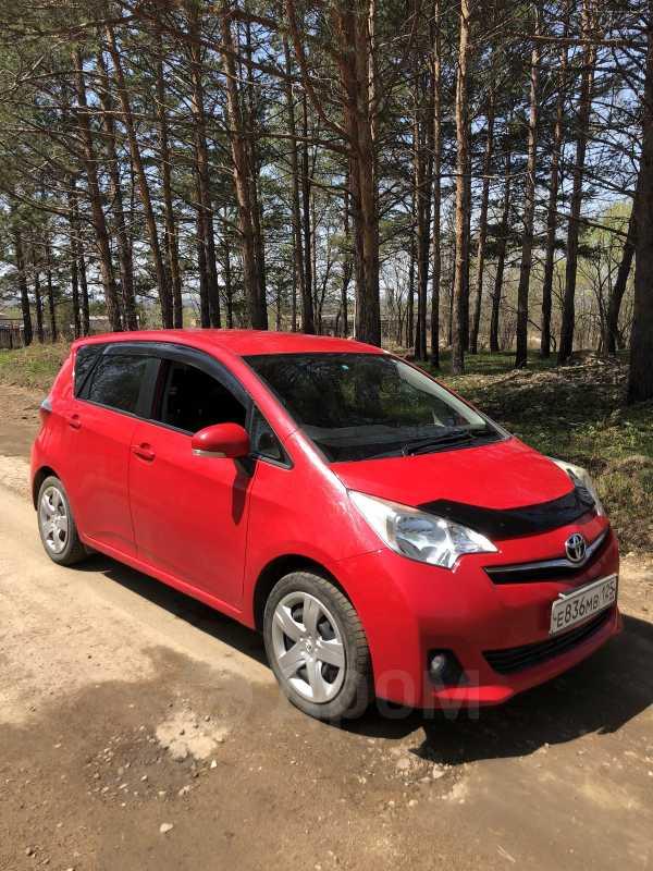 Toyota Ractis, 2012 год, 420 000 руб.
