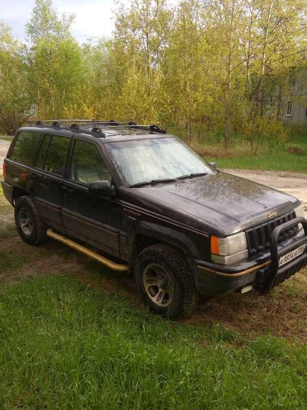 Jeep Grand Cherokee, 1993 год, 180 000 руб.