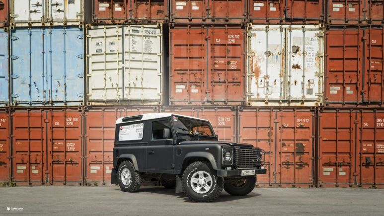 Land Rover Defender, 2006 год, 635 000 руб.