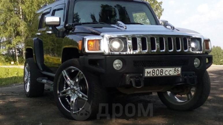 Hummer H3, 2007 год, 1 100 000 руб.