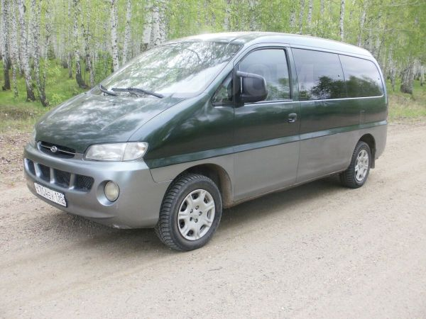 Hyundai Starex, 1997 год, 350 000 руб.