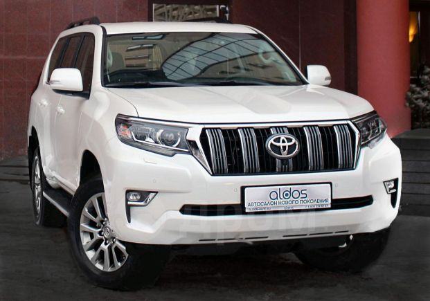 Toyota Land Cruiser Prado, 2018 год, 3 617 000 руб.