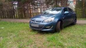 Opel Astra, 2013 г., Кемерово