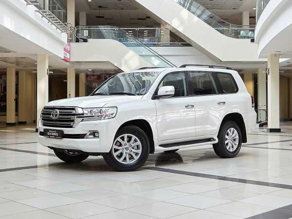 Toyota Land Cruiser, 2018 год, 4 648 000 руб.