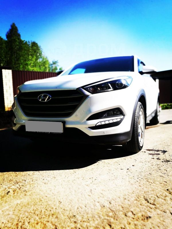 Hyundai Tucson, 2016 год, 1 245 000 руб.