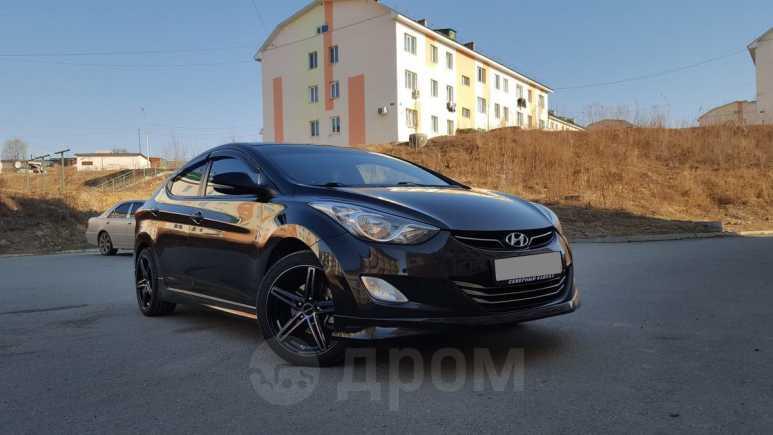 Hyundai Elantra, 2012 год, 670 000 руб.