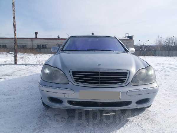 Mercedes-Benz S-Class, 2001 год, 250 000 руб.