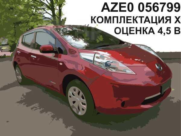 Nissan Leaf, 2013 год, 497 000 руб.