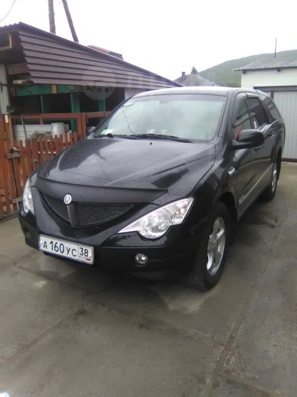SsangYong Actyon Sports, 2010 год, 555 000 руб.