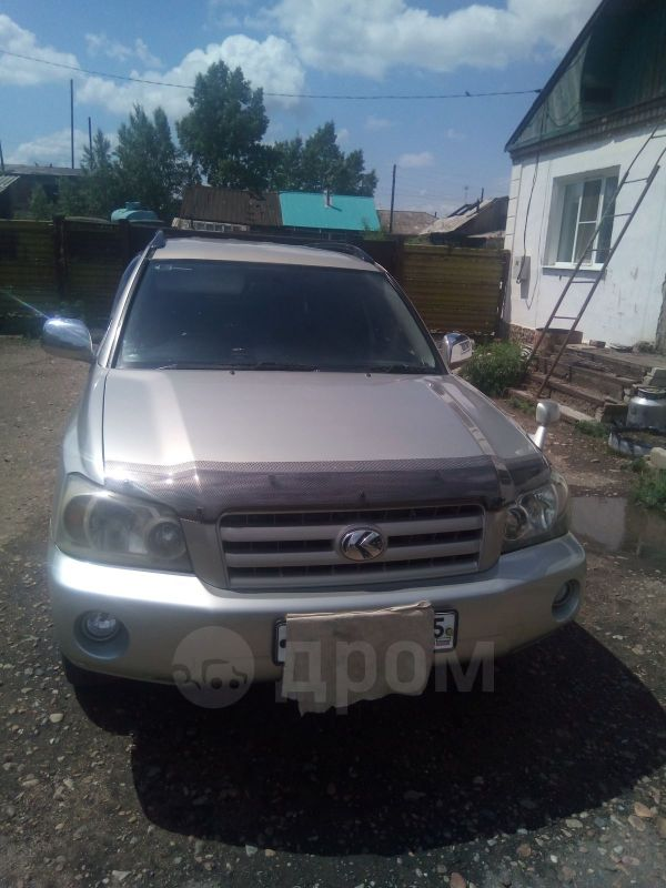 Toyota Kluger V, 2004 год, 650 000 руб.