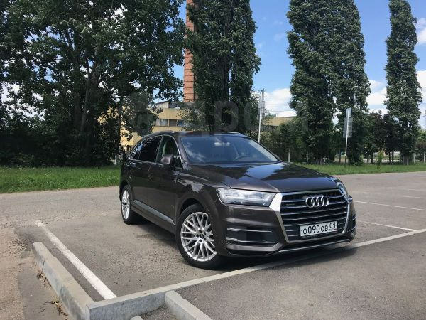 Audi Q7, 2016 год, 4 000 000 руб.