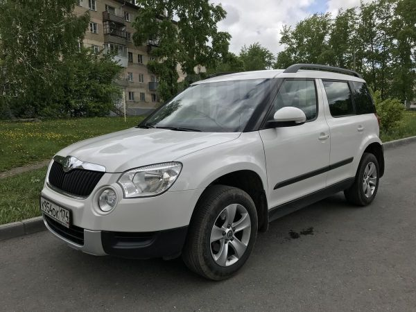 Skoda Yeti, 2011 год, 458 000 руб.