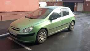 Peugeot 307, 2001 г., Новосибирск