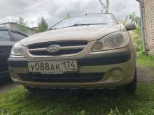Hyundai Getz, 2008 г., Челябинск