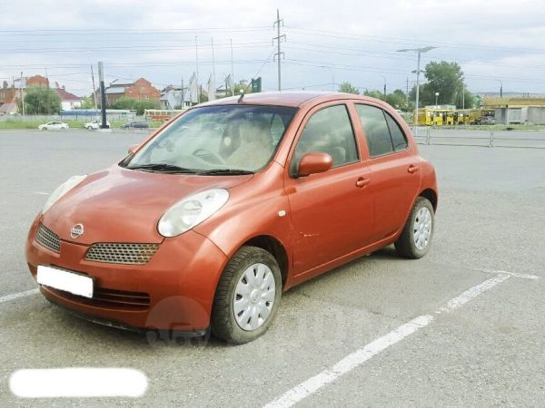 Nissan March, 2002 год, 284 000 руб.