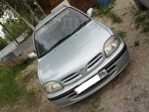 Nissan March, 1998 год, 130 000 руб.