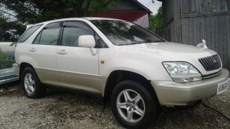 Toyota Harrier, 1998 год, 440 000 руб.