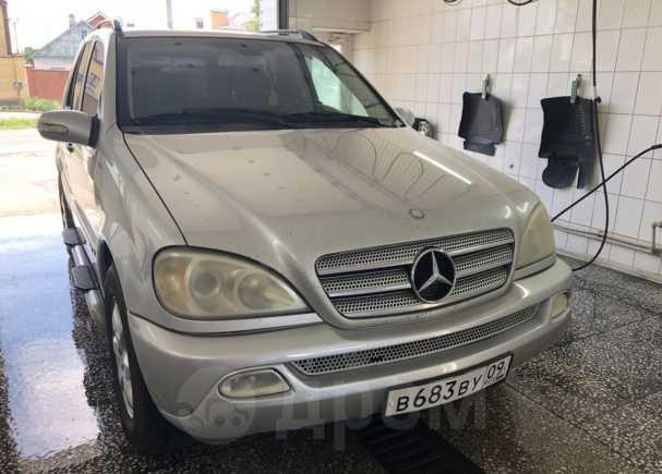 Mercedes-Benz M-Class, 2003 год, 399 999 руб.