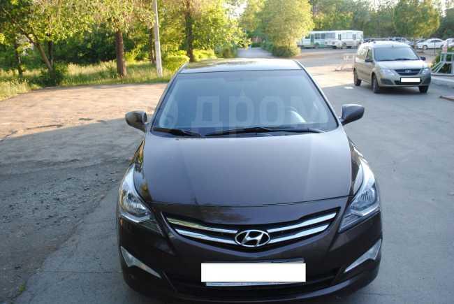Hyundai Solaris, 2015 год, 600 000 руб.