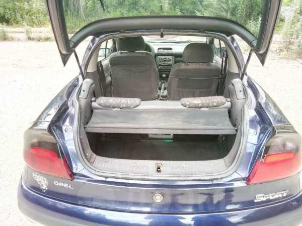 Opel Tigra, 1998 год, 120 000 руб.