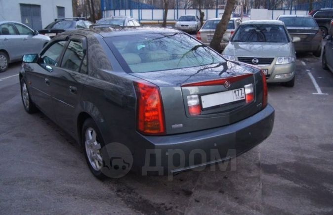 Cadillac CTS, 2002 год, 566 000 руб.