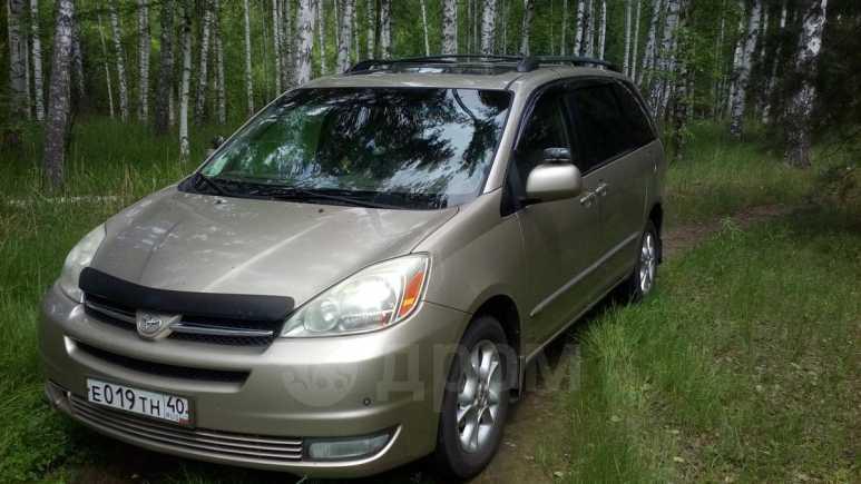 Toyota Sienna, 2004 год, 607 000 руб.