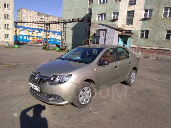 Renault Logan, 2016 год, 620 000 руб.