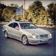 Mercedes-Benz CLK-класс, 2000 г., Тюмень