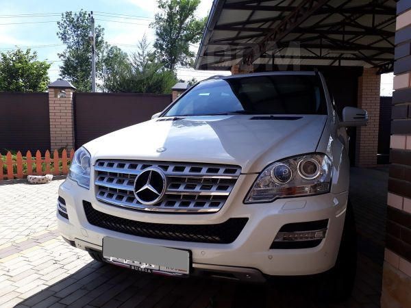 Mercedes-Benz M-Class, 2010 год, 1 350 000 руб.
