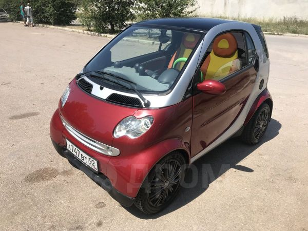 Smart Fortwo, 2004 год, 320 000 руб.
