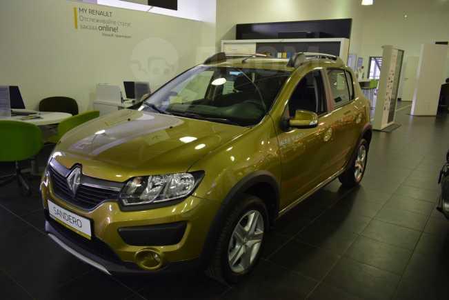 Renault Sandero Stepway, 2018 год, 828 980 руб.