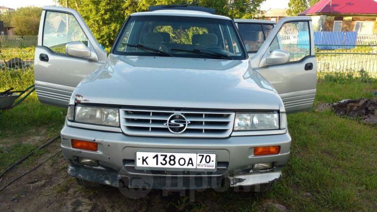 SsangYong Musso, 1997 год, 280 000 руб.