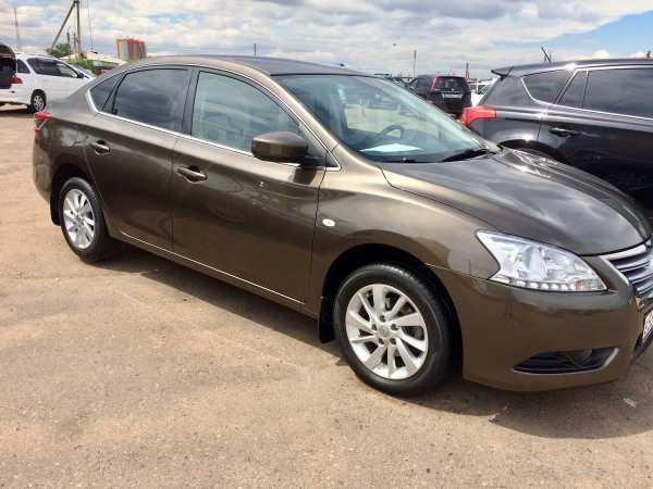 Nissan Sentra, 2015 год, 838 000 руб.