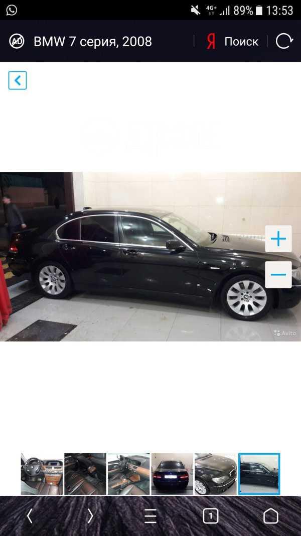 BMW 7-Series, 2008 год, 800 000 руб.