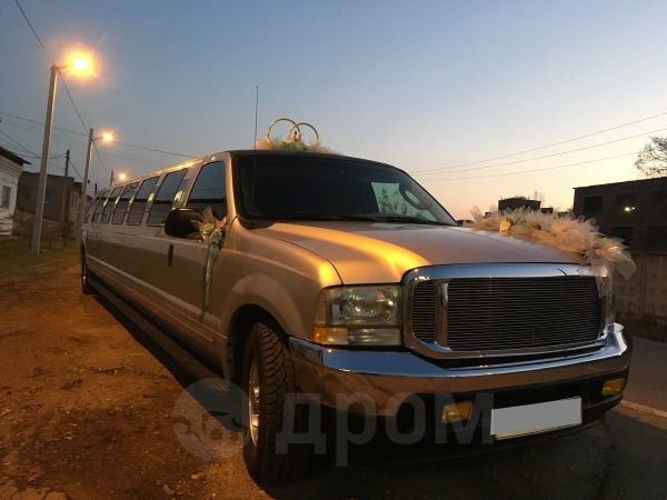 Ford Excursion, 2002 год, 600 000 руб.