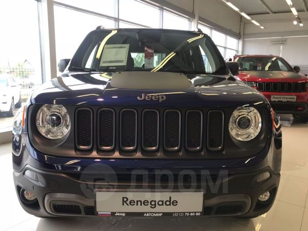 Jeep Renegade, 2018 год, 2 562 650 руб.