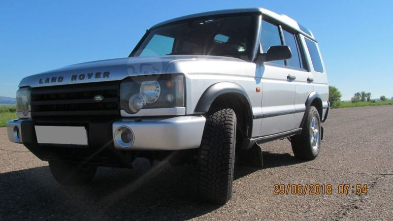 Land Rover Discovery, 2003 год, 550 000 руб.