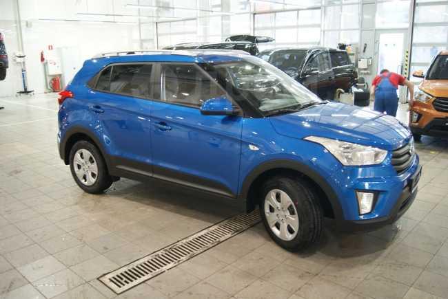 Hyundai Creta, 2018 год, 1 135 000 руб.