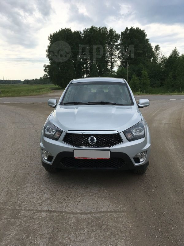 SsangYong Actyon Sports, 2014 год, 620 000 руб.