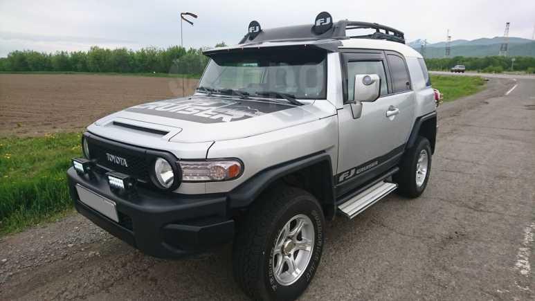 Toyota FJ Cruiser, 2007 год, 1 480 000 руб.