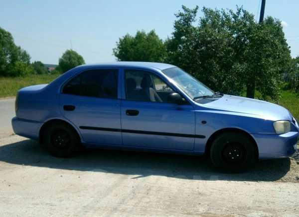 Hyundai Accent, 2006 год, 139 000 руб.