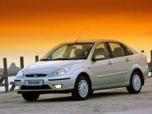 Ford Focus рестайлинг, 1 поколение, 10.2001 - 09.2004, Седан