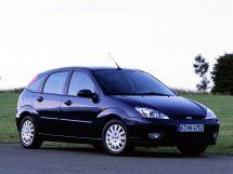 Ford Focus рестайлинг, 1 поколение, 10.2001 - 09.2004, Хэтчбек 5 дв.