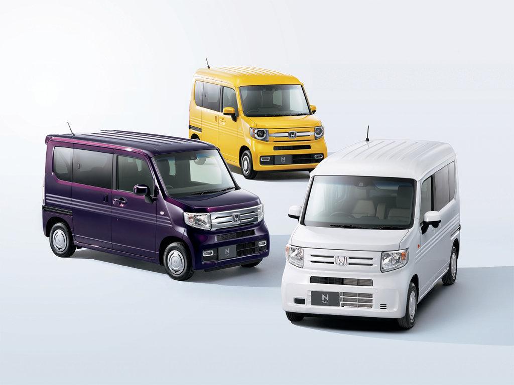 Honda N-VAN 2018, 2019, 2020, цельнометаллический фургон ...