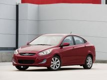 Hyundai Accent 4 поколение, 09.2011 - 11.2017, Седан