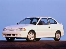 Hyundai Accent рестайлинг 1997, хэтчбек 3 дв., 1 поколение, X3