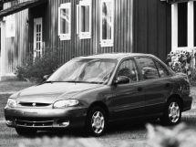 Hyundai Accent рестайлинг 1997, седан, 1 поколение, X3