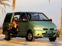 Nissan Serena рестайлинг, 1 поколение, 05.1994 - 09.2001, Минивэн