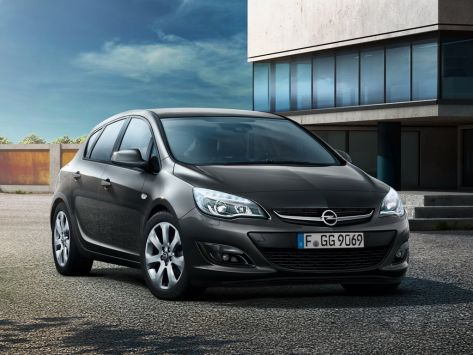 Opel Astra (J) 09.2012 - 07.2015